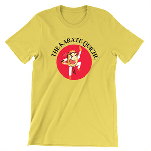 Movie The Food - The Karate Quiche T-Shirt - Gold