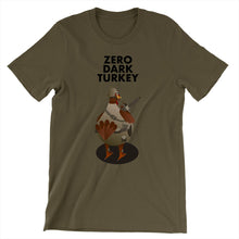 Load image into Gallery viewer, Movie The Food - Zero Dark Turkey T-Shirt - Army