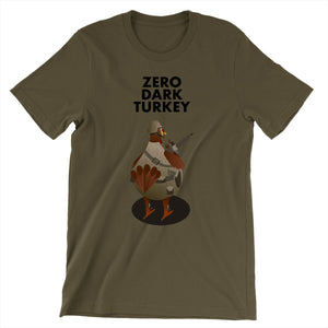 Movie The Food - Zero Dark Turkey T-Shirt - Army