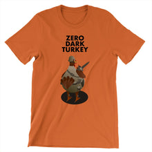 Load image into Gallery viewer, Movie The Food - Zero Dark Turkey T-Shirt - Autumn