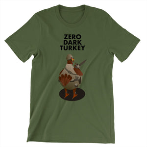 Movie The Food - Zero Dark Turkey T-Shirt - Olive