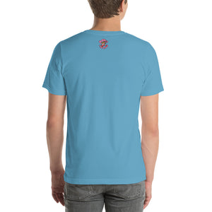 Movie The Food - I-Scream T-Shirt - Ocean Blue - Model Back