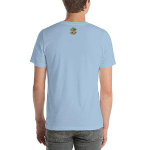 Movie The Food - The Fresh Mints Of Bel-Air T-Shirt - Light Blue - Model Back