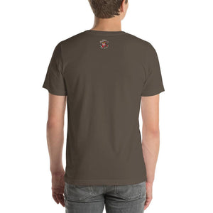 Movie The Food - Zero Dark Turkey T-Shirt - Army - Model Back
