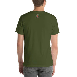 Movie The Food - Zero Dark Turkey T-Shirt - Olive - Model Back