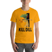 Load image into Gallery viewer, Movie The Food - Kill Dill T-Shirt - Gold - Model Front