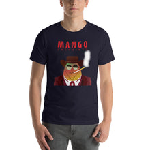 Load image into Gallery viewer, Movie The Food - Mango Unchained T-Shirt - Navy - Model Front