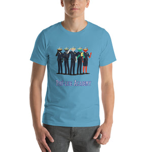 Movie The Food - Pho-lice Academy T-Shirt - Ocean Blue - Model Front