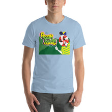 Load image into Gallery viewer, Movie The Food - The Fresh Mints Of Bel-Air T-Shirt - Light Blue - Model Front