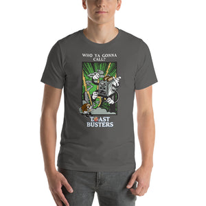 Movie The Food - Toastbusters T-Shirt - Asphalt - Model Front