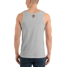 Load image into Gallery viewer, Movie The Food - Zero Dark Turkey Tank Top - Athletic Heather - Model Back