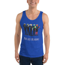 Load image into Gallery viewer, Movie The Food - Pho-lice Academy Tank Top - True Royal - Model Front