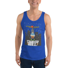 Load image into Gallery viewer, Movie The Food - Scone Alone 2 Tank Top - True Royal - Model Front