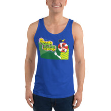 Load image into Gallery viewer, Movie The Food - The Fresh Mints Of Bel-Air Tank Top - True Royal - Model Front