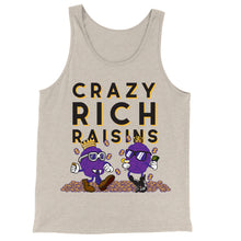 Load image into Gallery viewer, Movie The Food - Crazy Rich Raisins Tank Top - Oatmeal Triblend