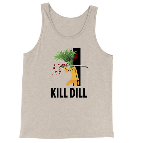 Movie The Food - Kill Dill Tank Top - Oatmeal Triblend