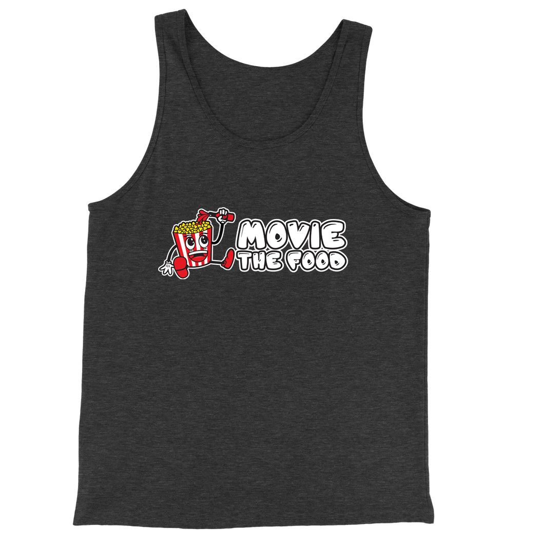 Movie The Food - Logo Tank Top - Charcoal-black Triblend