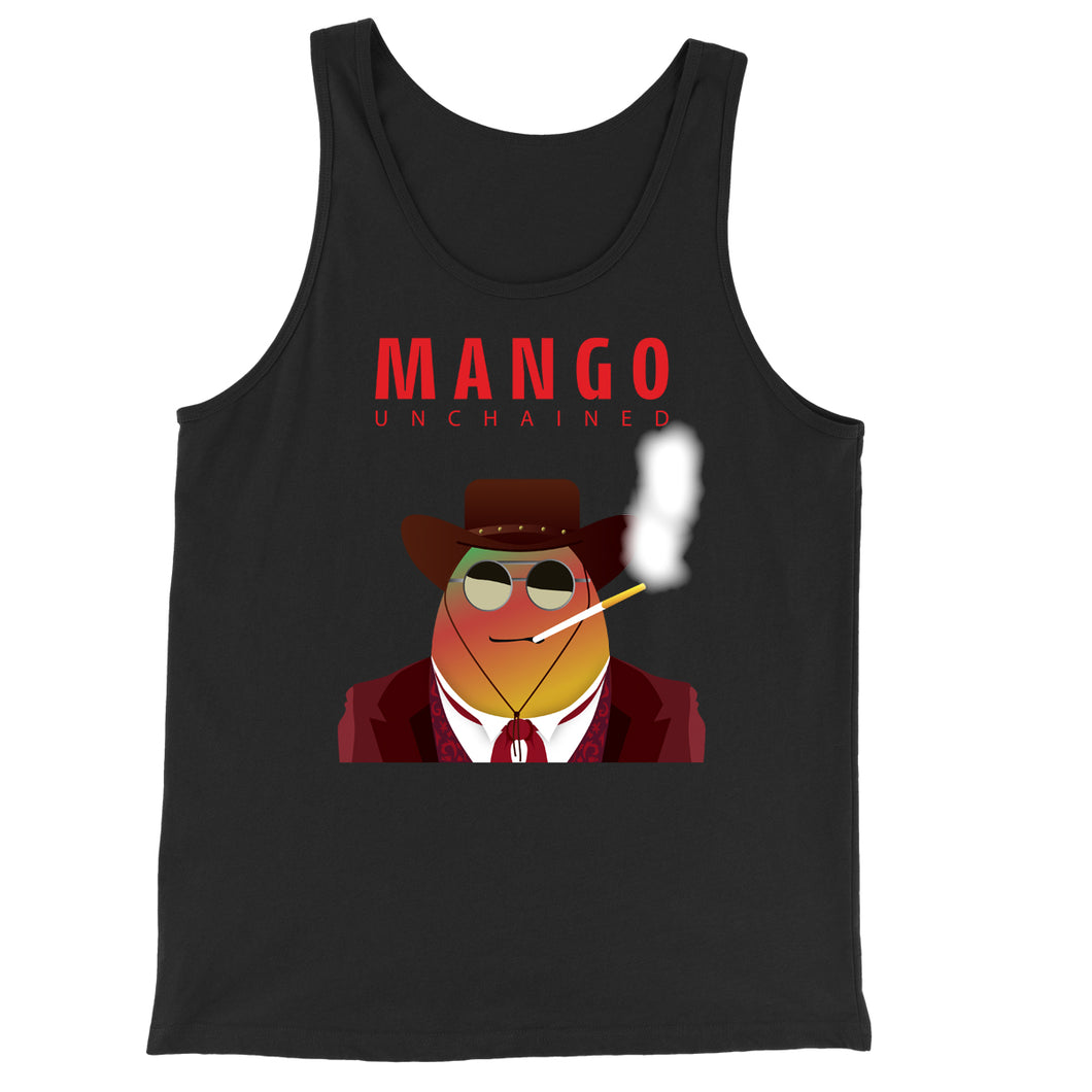 Movie The Food - Mango Unchained Tank Top - Black