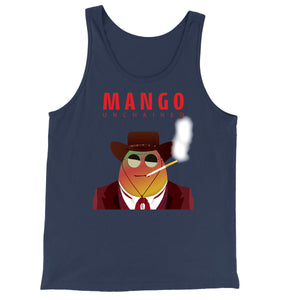 Movie The Food - Mango Unchained Tank Top - Navy