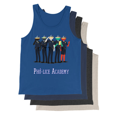 Movie The Food - Pho-lice Academy Tank Top