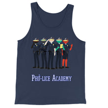 Load image into Gallery viewer, Movie The Food - Pho-lice Academy Tank Top - Navy