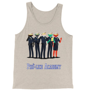 Movie The Food - Pho-lice Academy Tank Top - Oatmeal