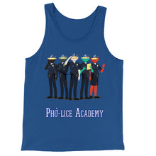 Load image into Gallery viewer, Movie The Food - Pho-lice Academy Tank Top - True Royal