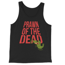 Load image into Gallery viewer, Movie The Food - Prawn Of The Dead Tank Top - Black