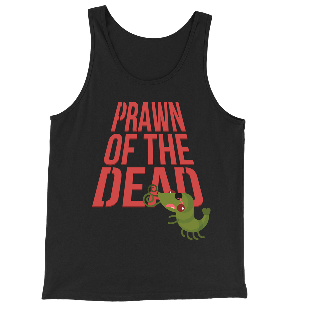 Movie The Food - Prawn Of The Dead Tank Top - Black