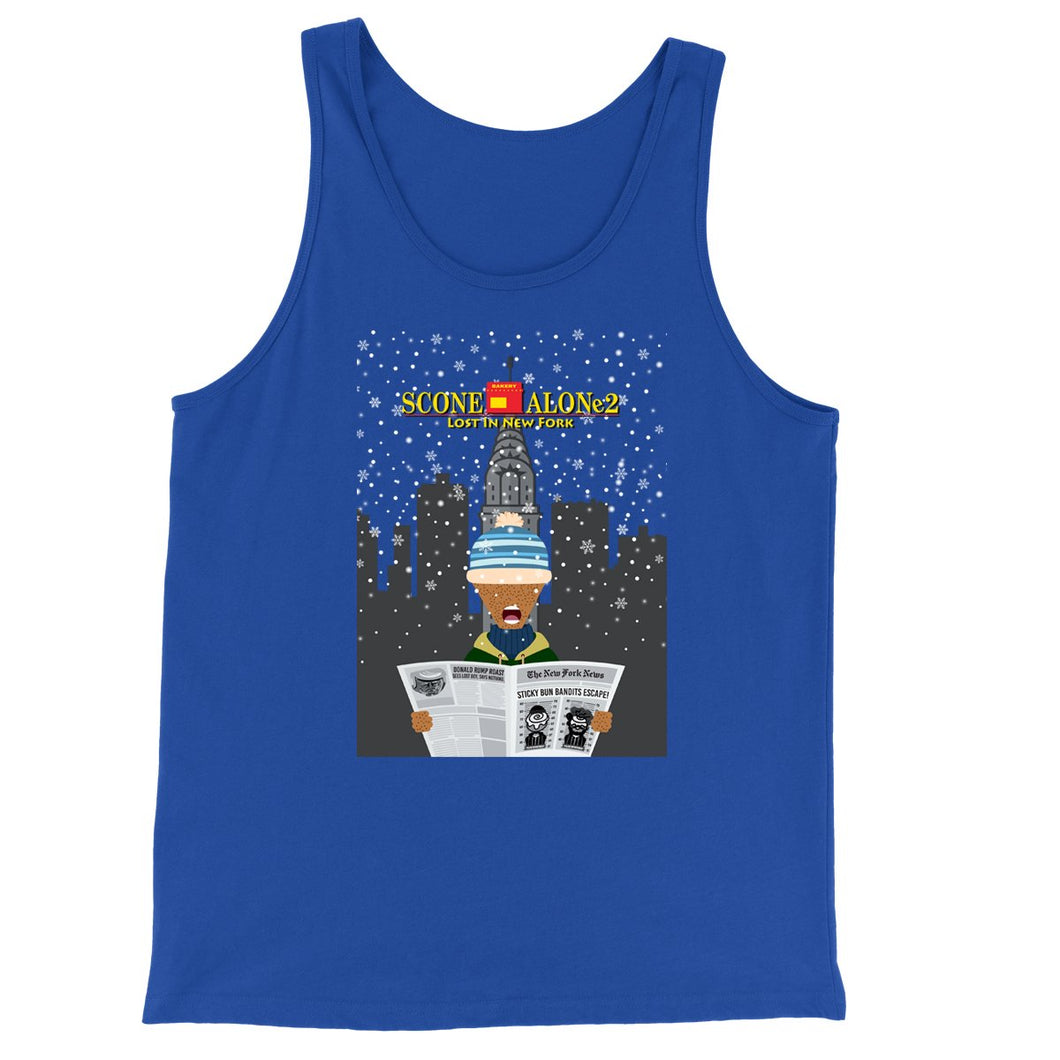 Movie The Food - Scone Alone 2 Tank Top - True Royal