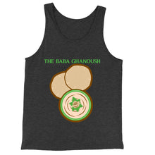 Load image into Gallery viewer, Movie The Food - The Baba Ghanoush Tank Top - Charcoal-black Triblend