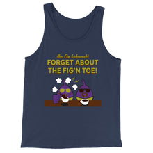 Load image into Gallery viewer, Movie The Food - The Fig Lebowski Tank Top - Navy