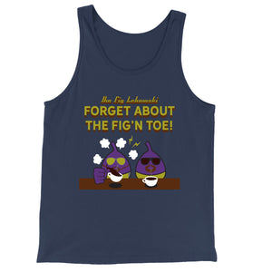 Movie The Food - The Fig Lebowski Tank Top - Navy