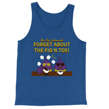 Load image into Gallery viewer, Movie The Food - The Fig Lebowski Tank Top - True Royal