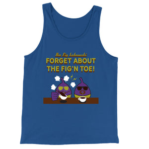 Movie The Food - The Fig Lebowski Tank Top - True Royal