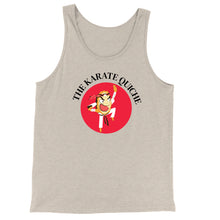 Load image into Gallery viewer, Movie The Food - The Karate Quiche Tank Top - Oatmeal Triblend