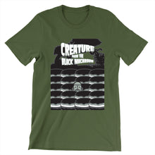 Load image into Gallery viewer, Movie The Food - Creature From The Black Macaroon T-Shirt - Olive