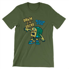 Load image into Gallery viewer, Movie The Food - Dawn Of The Bread T-Shirt - Olive