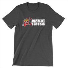 Load image into Gallery viewer, Movie The Food - Logo T-Shirt - Dark Grey Heather