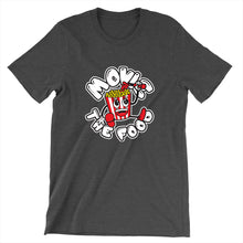 Load image into Gallery viewer, Movie The Food - Round Logo T-Shirt - Dark Grey Heather