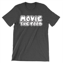 Load image into Gallery viewer, Movie The Food - Text Logo T-Shirt - Dark Grey Heather