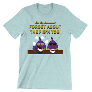 Movie The Food - The Fig Lebowski T-Shirt - Heather Prism Ice Blue