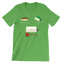 Load image into Gallery viewer, Movie The Food - V For Venfeta St. Patrick's T-Shirt - Leaf