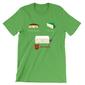 Movie The Food - V For Venfeta St. Patrick's T-Shirt - Leaf