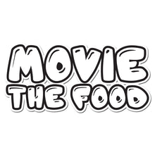 Load image into Gallery viewer, Movie The Food - Text Logo - Design Detail