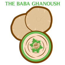 Load image into Gallery viewer, Movie The Food - The Baba Ghanoush - Design Detail
