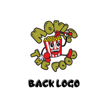 Load image into Gallery viewer, Movie The Food - The Fig Lebowski - Back Logo Detail