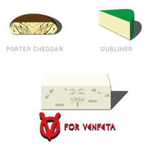 Load image into Gallery viewer, Movie The Food - V For Venfeta St. Patrick's - Design Detail