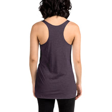 Load image into Gallery viewer, Movie The Food - Inspector Baguette Women's Racerback Tank Top - Vintage Purple - Model Back