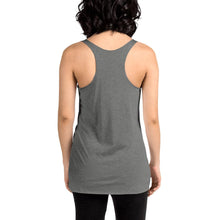Load image into Gallery viewer, Movie The Food - Kill Dill Women's Racerback Tank Top - Premium Heather - Model Back